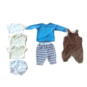 Lot of 7 Boy's 0-3m Clothing